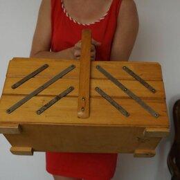 Шкатулки - Деревянные шкатулки для рукоделия, 0