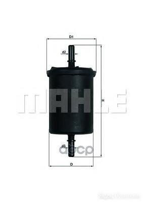 Фильтр Топливный по цене 802₽ - Двигатель и комплектующие, фото 0