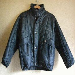 Куртки - Куртка теплая винтажная оверсайз 90-е СССР, 0