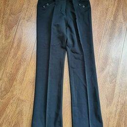 Брюки - Черные женские штаны с стрелками.Состояние новых размер 42-44, 0