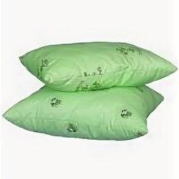 Подушки - Подушка бамбук 50х70 поплин Премиум, 0