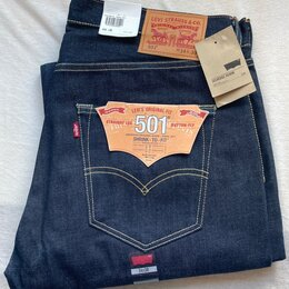 Джинсы - Levi's 501 STF #0501-1931(shrink to fit) Selvedgе 34x30, 0