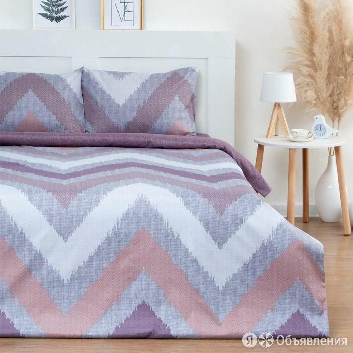 Постельное белье Этель дуэт «Геометрия» 150*215см-2 шт, 240*225см, 50*70±3 см... по цене 3285₽ - Кровати, фото 0