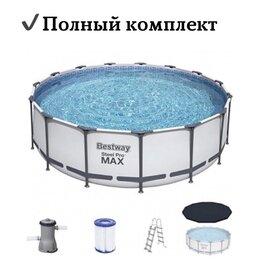 Бассейны - Каркасный бассейн 3,66х1,22 м Полный комплект, 0