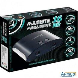 Ретро-консоли и электронные игры - Sega Magistr Mega Drive (250 встроенных игр, Microsd) Conskdn100  16 Bit [mx250], 0