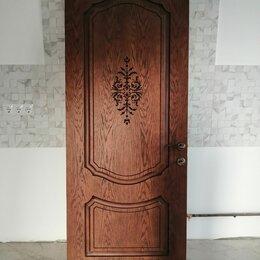 Межкомнатные двери - Дверь шпон 2000*800, орех, 0