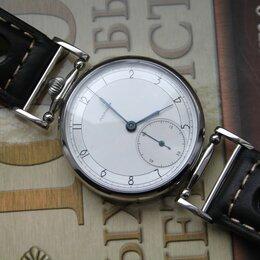 Наручные часы - Кожаный ремешок браслет для часов, 0