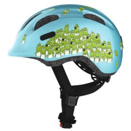 Спортивная защита - Велошлем детский ABUS SMILEY 2.0, синий, Крокодил (Размер: M (50-55 см)), 0