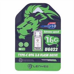 Карты памяти - FLASH DRIVE LENYES TYPE-C OTG 16GB UD022, 0