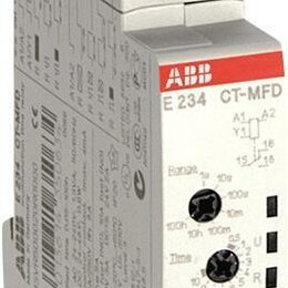 Аксессуары и запчасти - Реле времени CT-MFD 24-48В DC 24-240В AC 7 времен. диапазонов 0.05с...10..., 0