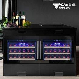 Винные шкафы - Винный шкаф Cold Vine C18-KBB1, 0