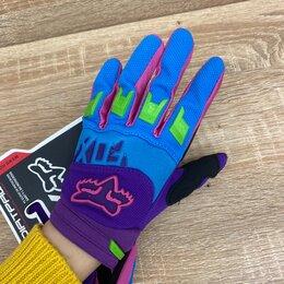 Мотоэкипировка - Кроссовые перчатки FOX детские , 0