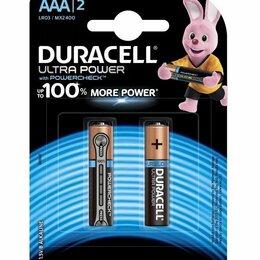 Батарейки - Батарейки Duracell LR03-2BL Ultra 2шт ААА, 0