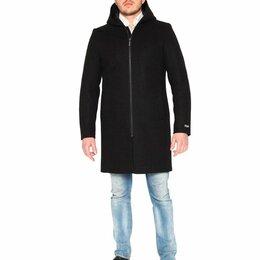 Пальто - Misteks мужское зимнее пальто 54 р, шерсть, 0