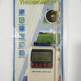 Метеостанции, термометры, барометры - Электронный термометр с выносным щупом (Т806) MS-408 50/сто, 0