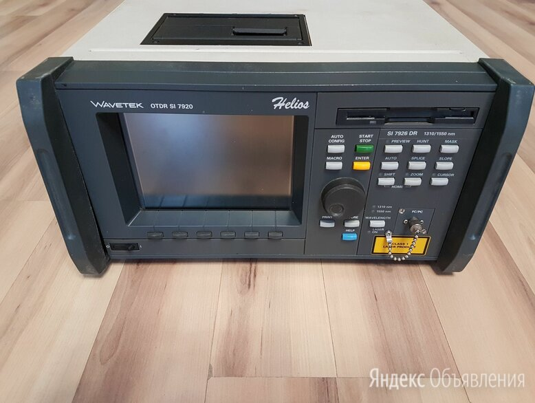 Рефлектометром hellion фирмы Wavetek SI 7920 Helios otdr по цене 50000₽ - Измерительное оборудование, фото 0