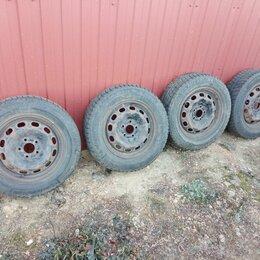 Шины, диски и комплектующие - Диски R15 5*108 + шины Michelin Alpin 195/65 R15, 0