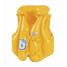 Спасательные жилеты и круги - Жилет надувной Swim Safe,ступень B,51x46 см, 0