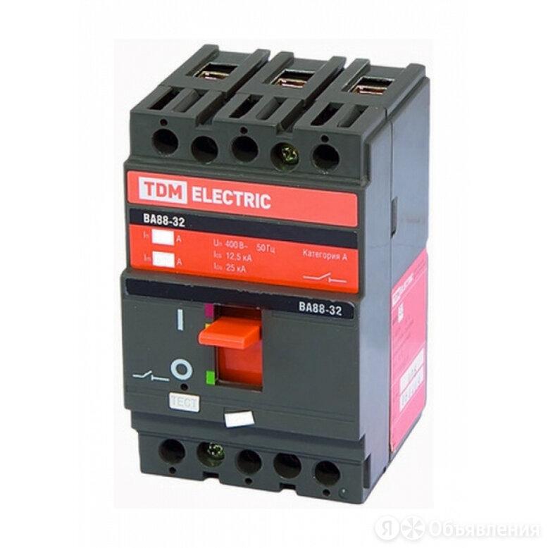 Автоматический выключатель TDM ВА88-32 по цене 2801₽ - Электрические щиты и комплектующие, фото 0