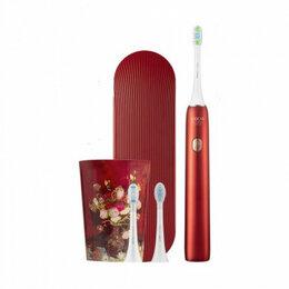 Электрические зубные щетки - Электрическая зубная щетка Xiaomi Soocas X3U Van Gogh Museum Design (Красный), 0