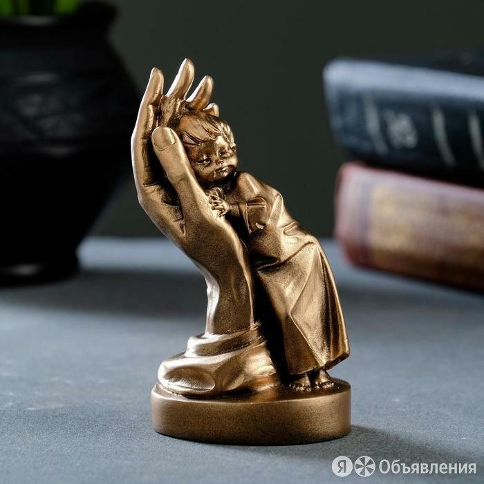 """Статуэтка """"Нежность"""" бронза / мраморная крошка по цене 812₽ - Статуэтки и фигурки, фото 0"""