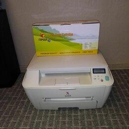 Принтеры, сканеры и МФУ - МФУ лазерное Xerox WC pe114 с новым картриджем, 0