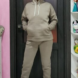 Костюмы - Спортивный костюм женский с начёсом новый 42-52 12 расцветок, 0