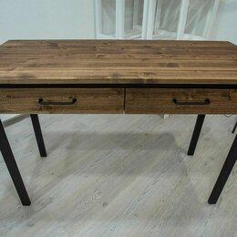 Компьютерные и письменные столы - Стол универсальный с 2 ящиками, 0