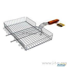 Решетки - Решетка-гриль глубокая 45х25 см, Bbq Time, 0