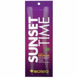 Готовые строения - SOLEO SUNSET TIME Темный крем-бронзатор для загара с комплексом морских водоросл, 0