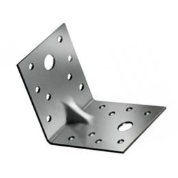 Уголки, кронштейны, держатели - Крепежный усиленный уголок KUU 90x90x40, 0