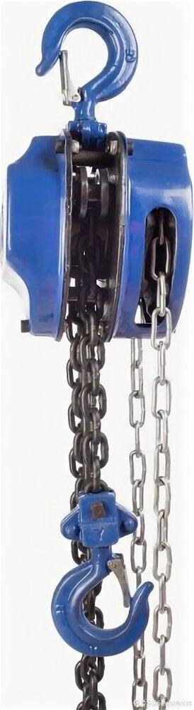 Таль цепная TOR ТРШ 1,0 т, Н= 9.0 м, тип С 101191 [101191] по цене 6199₽ - Грузоподъемное оборудование, фото 0