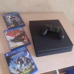 Игровые приставки - Playstation 4 slim 500 гб., 0