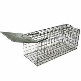 Отпугиватели и ловушки для птиц и грызунов - Живоловка крысоловка клетка для грызунов, 0