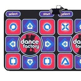 Коврики - Танцевально-игровой коврик на двоих проводной 32бит русское меню /ТV, PC/, 0