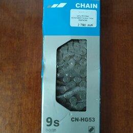 Цепи - Цепь shimano cn-hg-53 deore 9ск. 114 звеньев, инд.уп., 0