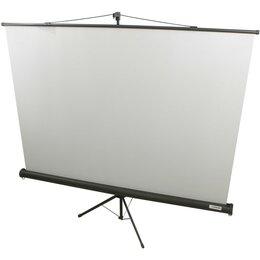 Экраны - LUMIEN Экран Lumien 160x160 Eco View LEV-100105 1:1, напольный, рулонный, 0