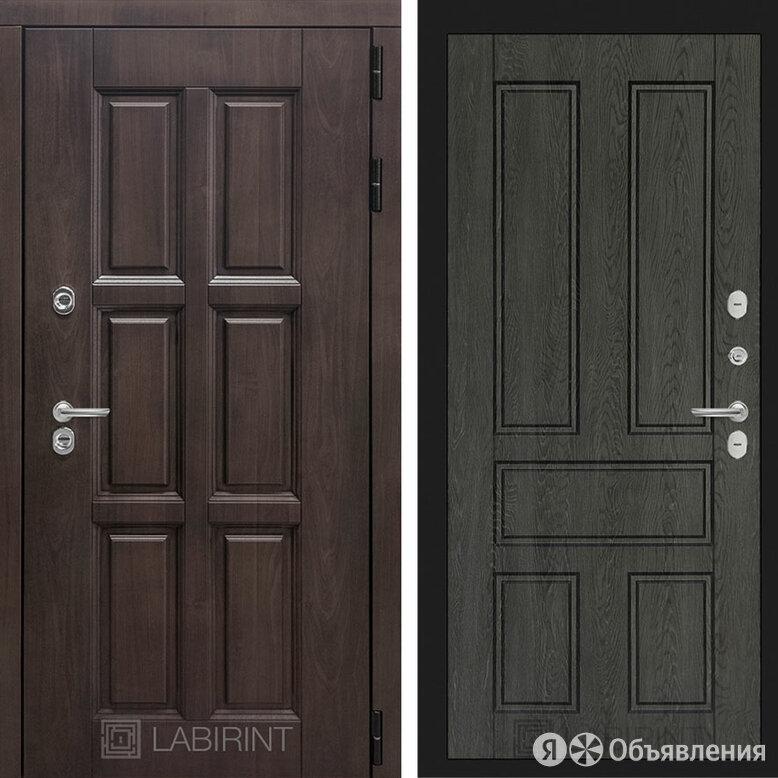Дверь Лабиринт ЛОНДОН 10 - Дуб филадельфия графит по цене 42152₽ - Входные двери, фото 0