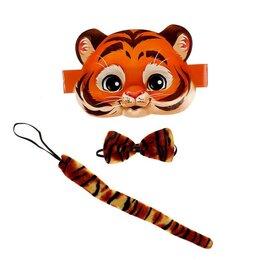 Детская литература - Карнавальный набор Будь тигром, 0