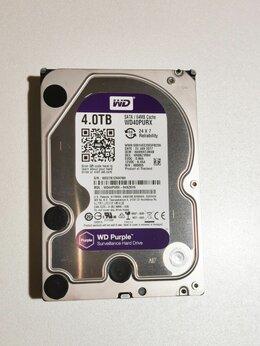 Внутренние жесткие диски - Жесткий диск 4TB SATA 6Gb/s Western Digital WD40PU, 0