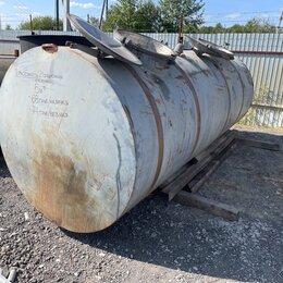 Баки - Металлический резервуар емкость, Емкость металлическая алюминиевая 2 секции, 0
