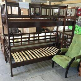 Кровати - Кровать массив бука 80х190, 0