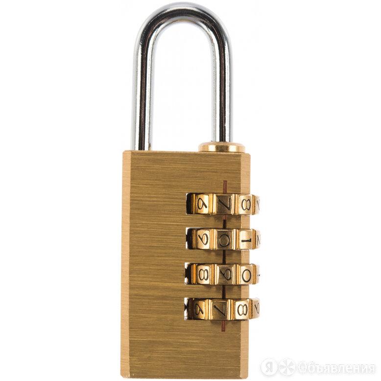 Кодовый навесной замок Trodos ВС-304 Code по цене 424₽ - Грузоподъемное оборудование, фото 0