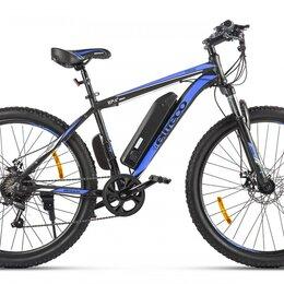 Мототехника и электровелосипеды - Велогибрид Eltreco XT 600 D Черно-синий, 0
