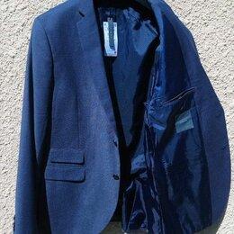 Пиджаки - Гладкий костюмный пиджак из меланжевой ткани Новый, 0