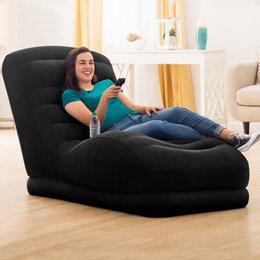 Походная мебель - 68595NP Кресло-шезлонг надувное Mega Lounge 86х170х94 см, 0