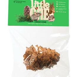 Лакомства  - LITTLE ONE Кедровая шишка лакомство для грызунов , 0