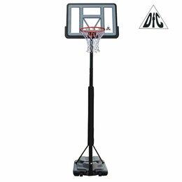 """Стойки и кольца - Мобильная баскетбольная стойка 44"""" DFC STAND44PVC3, 0"""