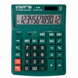 Калькуляторы - Настольный калькулятор Staff STF-444-12-DG, 0
