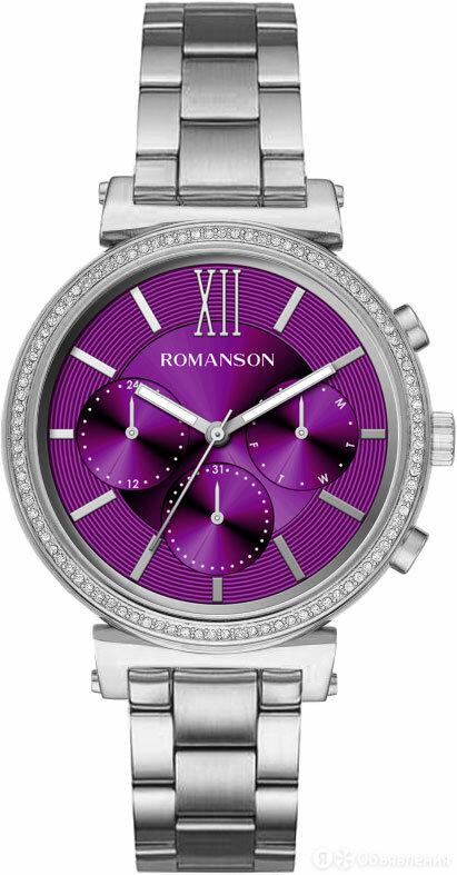 Наручные часы Romanson RM8A38FLW(WINE) по цене 6090₽ - Наручные часы, фото 0
